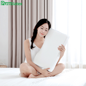 Image 5 - Purenlatex Orthopedic Memory Foam Gel Contour Pillow Ergonomic Cervical Pillow Neck Pain for Side Back and Stomach Sleepers
