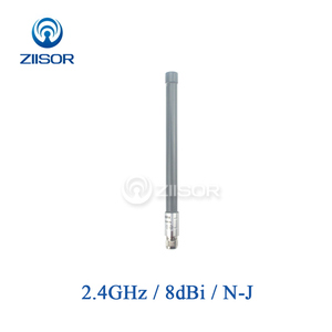 Image 1 - 2.4GHz Wifi routeur antenne N mâle étanche Omni haut Gain antennes amplificateur intérieur extérieur longue portée antenne TX2400 BLG 30