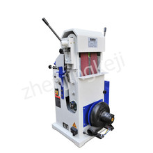 Double Belt Sanding Machine Round Bar Grinding Polishing Wood Rod