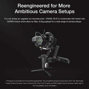 Image 5 - Zhiyun Crane 3S/Se 3 Axis Gimbal Handheld Stabilizer Ondersteuning 6.5Kg Dslr Camera Camcorder Video Camera S voor Nikon Canon