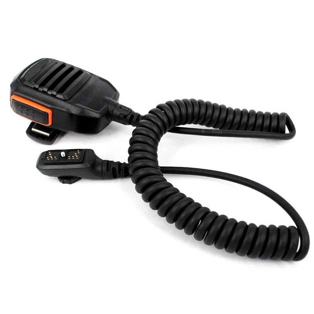 CB Radio PTT Speaker Mic For HYT Hytera PD700 Walkie Talkie Speaker Emergency Alarm Microphone Two Way Radio Accessories