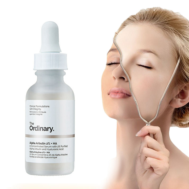 The Ordinary Alpha Arbutin 2% + HA 30ml Concentrated Whitening Face Serum  Remove Dark Spots Freckle Hyper Pigmentation - buy at the price of $4.74 in  aliexpress.com | imall.com