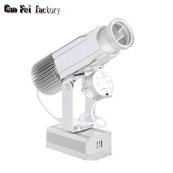 Gobos Projector Lens Logo 30W High Resolution Shop Mail Restaurant Welcome Laser Projector Shadow Design own Customized Display