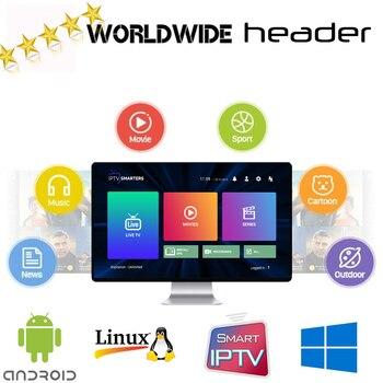 цена на Arabic FR Portuguese Polish German Italy Spain EX-YU Israel Sweden UK US CA TV for Android TV Box M3U