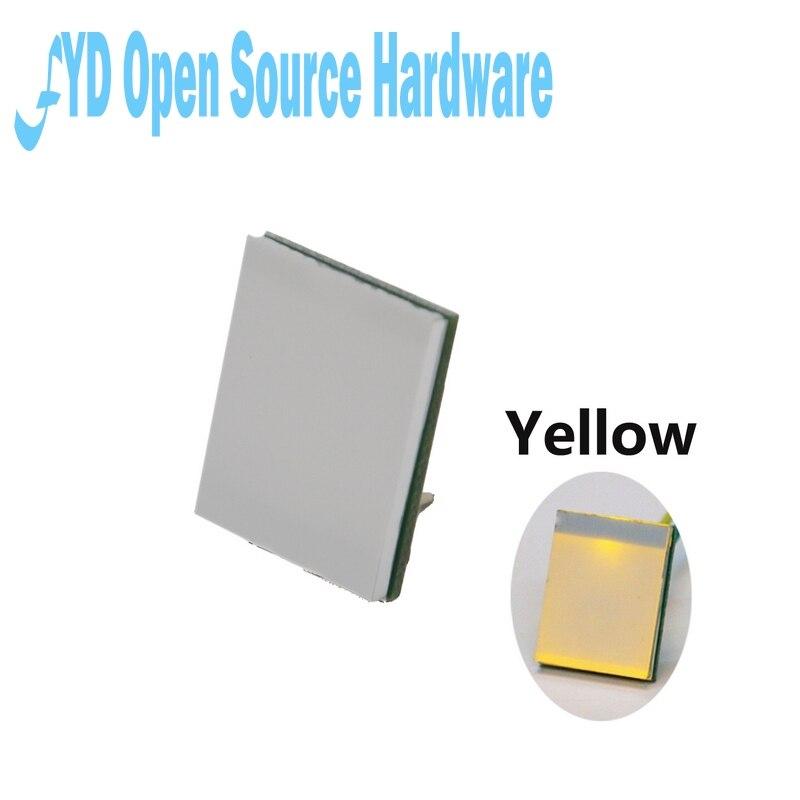 5 шт. желтый цвет серии HTTM 2,7 V-6V емкостный сенсорный переключатель модуль сильный анти-помех
