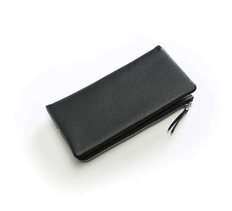 SIKU genuine leather men wallets Fashion men purse famous brand wallet men image