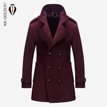 Mens Coat Winter Wool Mens Jackets and Coats Famous Brand Casual Parka