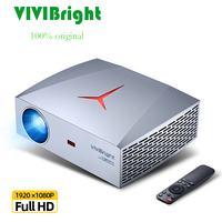 100% ORIGINAL VIVIBright Real Full HD 1920*1080P Digital Projector F40/F40UP WIFI Bluetooth android 3D Movie video LED Projector
