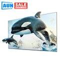 AUN анти-светильник проекции Экран для DLP светодиодный 1080P 4K проектор Портативный Светоотражающие Экран хорошее в дневное время Применение д...