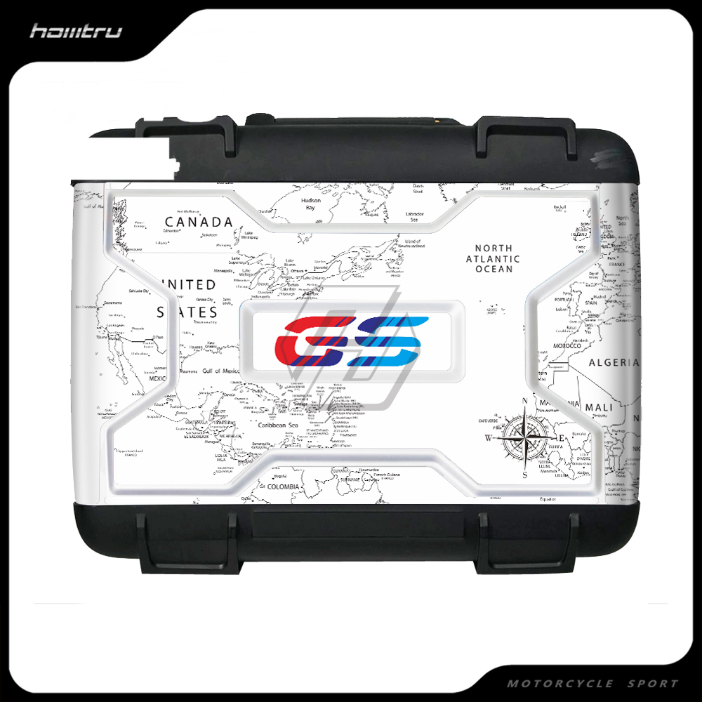 Motorcycle Sticker Case for BMW Vario Case 2004-2012 R1200GS R1250GS Sticker Easy Remove