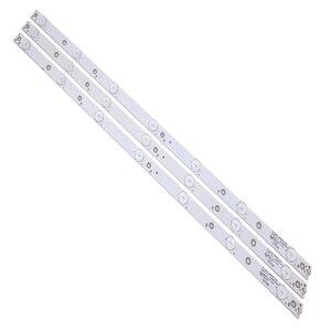 Image 1 - جديد كيت 3 قطعة 7LED (3 V) 620 مللي متر LED شريط إضاءة خلفي ل KDL 32R330D 32PHS5301 32PFS5501 LB32080 V0 E465853 E349376 TPT315B5
