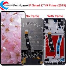 Dla Huawei Y9 Prime 2019 wyświetlacz ekran dotykowy Digitizer zgromadzenie dla Huawei P inteligentny Z/ Honor 9X/ciesz 10 plus LCD