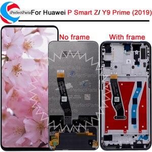 Image 1 - 화웨이 Y9 프라임 2019 LCD STK L21 STK L22 화웨이 P 스마트 Z/명예 9X LCD 용 STK LX3 디스플레이 터치 스크린 디지타이저 어셈블리