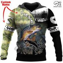 Модный свитшот plstar cosmos с 3d принтом животных для рыбалки