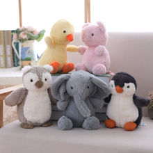 Stuffed Toys Stitch Plush Animal Dolls Cute Elephant Penguin Owl Soft For Children Drop Shipping