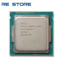 Intel procesador Intel Core i7 4790K 4,0 GHz Quad Core 8MB caché con gráfico HD 4600 TDP 88W ordenador de sobremesa LGA 1150 CPU