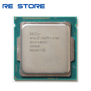 Image 1 - 使用インテルコア i7 4790 18k 4.0 クアッドコア 8 メガバイトの hd グラフィック 4600 tdp 88 ワットデスクトップ lga 1150 cpu プロセッサ