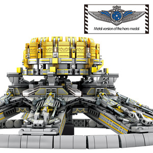 Image 3 - SEMBO 2453Pcs City Technic Assembly Building Blocks Military Wandering Earth Universe Planetary Engine Bricks Toys for Boys