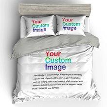 2 pessoas cama de casal 3d impressão digital jogo de cama personalizado. Enviar qualquer arte finala, design, imagem