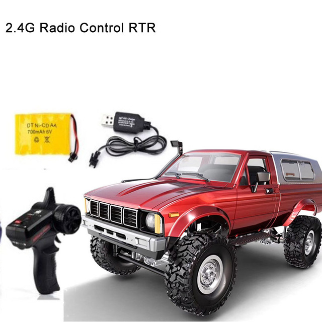1 16 RC Car 4WD 2 4G Radio Control Car Off Road Electric Buggy truck Moving