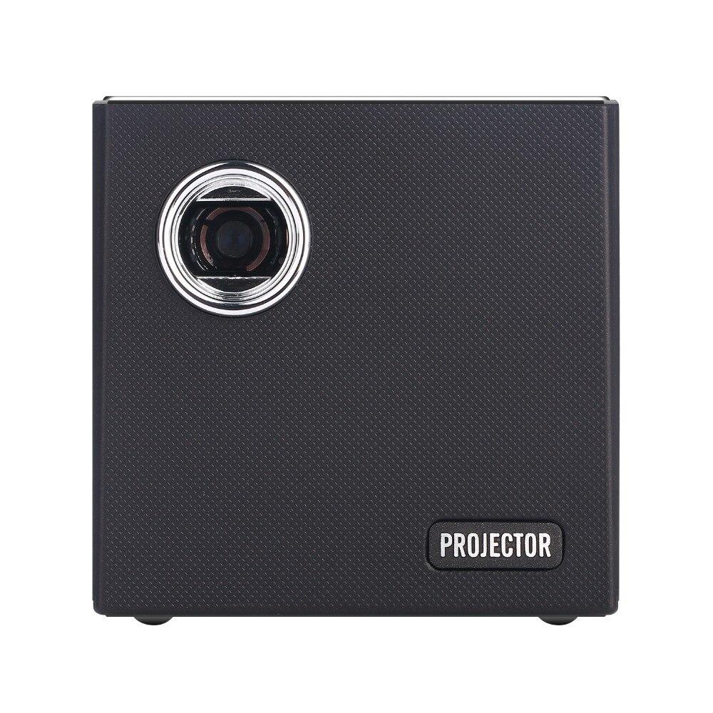 MINI projecteur DLP C80 Android 7.1.2 2GB16GB 4K 2.4G/5G WIFI Bluetooth IR projecteur pour Home Cinema portable vidéoprojecteur LED
