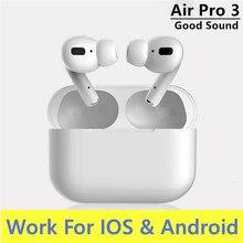 Für airpoddings Pro 3 Bluetooth Kopfhörer TWS Drahtlose Kopfhörer HiFi Musik Ohrhörer Sport Gaming Headset Für IOS Android Telefon