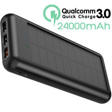 ALLPOWERS 24000mAh Power Bank QC Quick Charge Externe Batterij Triple USB Powerbank PD Quick Charge voor iPhone X Xs xr Xs max.(China)