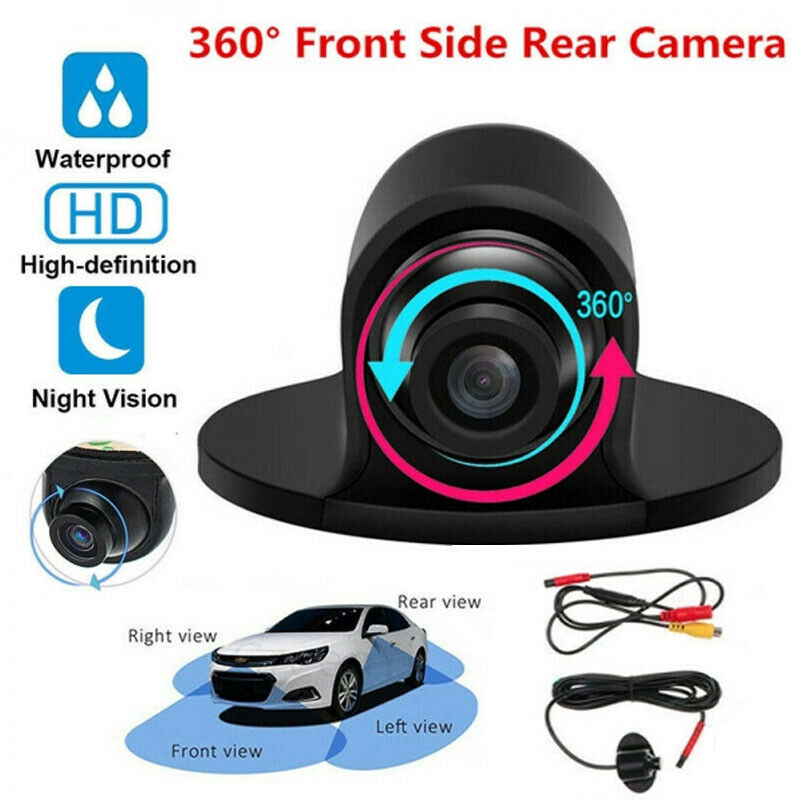 New Universal Car Rear View Camera Front Side View Backup Reversing Camera HD CCD CMOS Night Vision Waterproof Color Image