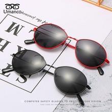 Umanco 2019 New Designer Brand Water Drop Kids Sunglasses Fo