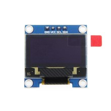 0.96 Inch IIC I2C Serial GND 128X64 OLED LCD LED Display Module SSD1306 for Arduino Kit White Display(China)