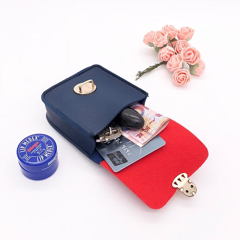 New Style Earphones Cute Purse Twill Mini Backpack Coin Bag Wallet Creative Key Holder Fashion Pannier Bag