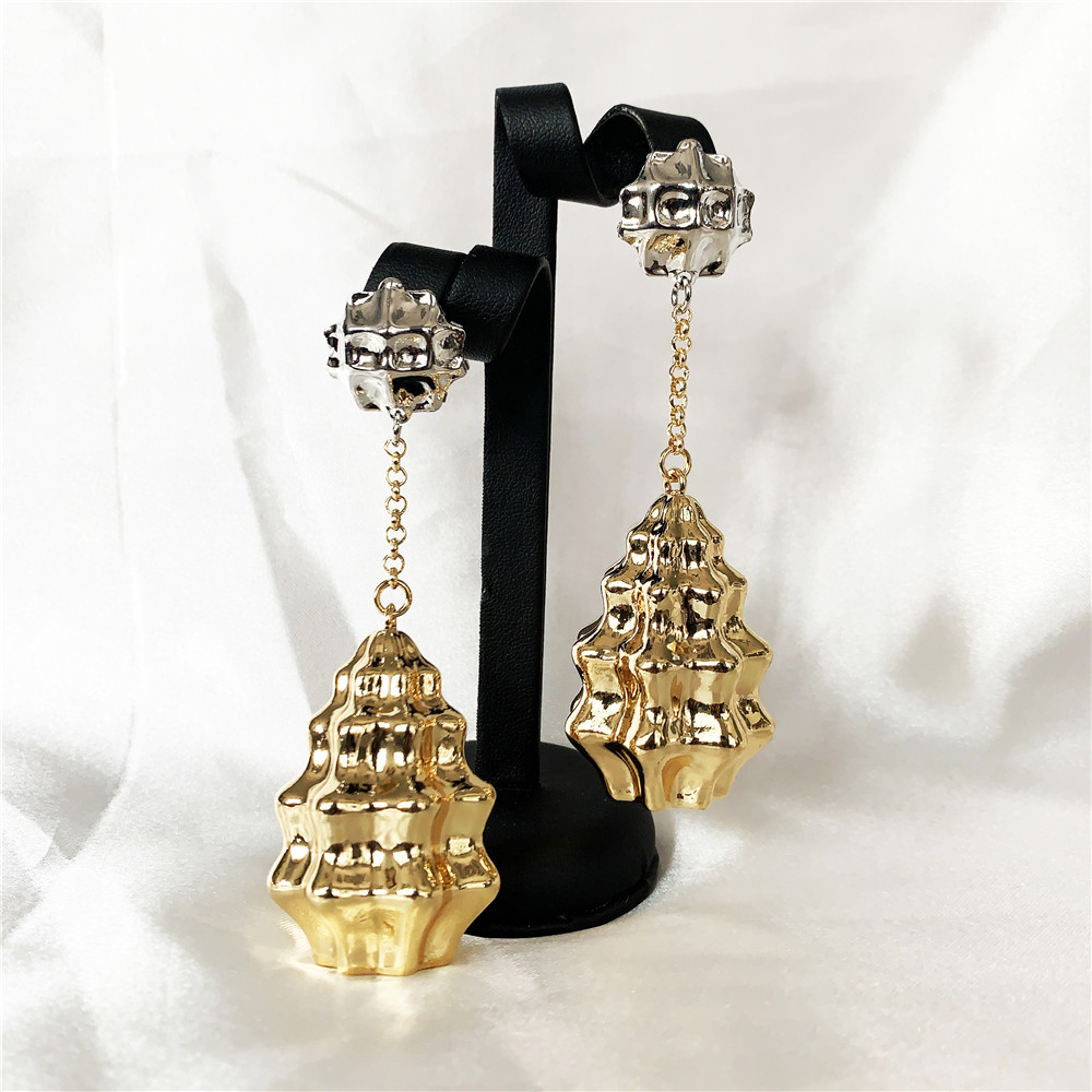 2020 New Designs Hanging Long Chain Drop Earrings For Women Mirafeel Gold And Sliver Mirafeel Party Elegant Ladies