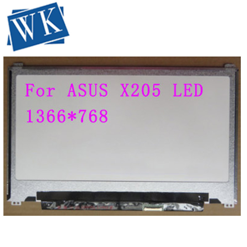 Free shipping 11.6 lcd For ASUS X205 X205T X205TA laptop LED Display 30Pin Slim up and down the ear hole N116BGE-EB2 <font><b>B116XTN02.2</b></font> image