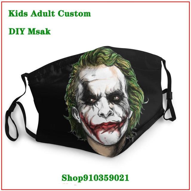 Jurassic Porg  DIY mondmasker Latest design masque facial lavable   New Arrival cloth face masks High Quality face maskfashion