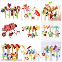 Детские игрушки 0-12 месяцев игрушка в виде животного для детской кроватки спиральная игрушка детская кровать подвесная игрушка на коляску о...