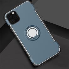 10 sztuk odporny na wstrząsy pancerz uchwyt samochodowy Kicksatnd magnes Case dla iPhone 12 Mini 11 Pro Max XS XR X 8 7 6 Plus SE metalowa osłona palca tanie tanio hahacase CN (pochodzenie) Aneks Skrzynki Apple iphone ów Iphone 6 Iphone 6 plus IPHONE 6S Iphone 6 s plus Iphone SE IPhone 7