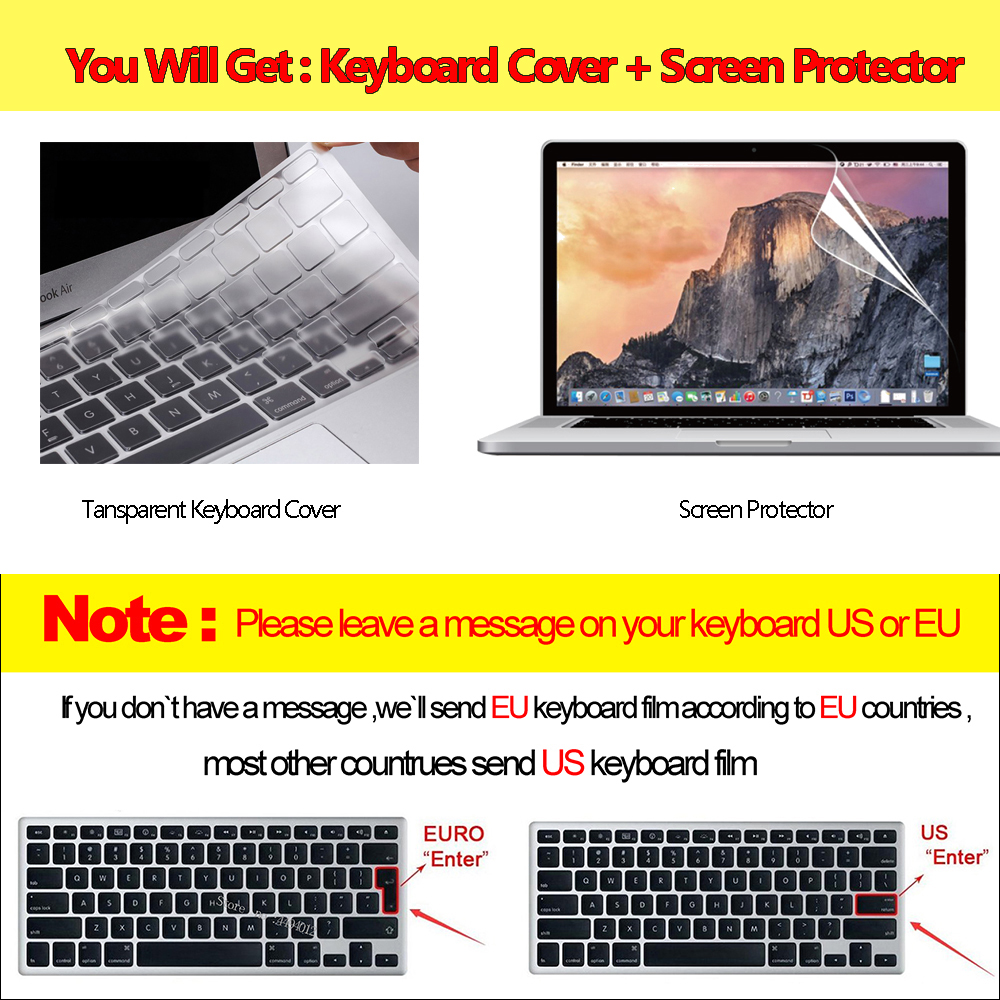 Laptop Case For Macbook Air 13 A2337 A2179 2020 A2338 M1 Chip Pro 13 12 11 15 A2289 New Touch Bar for Mac book Pro 16 A2141 Case 2