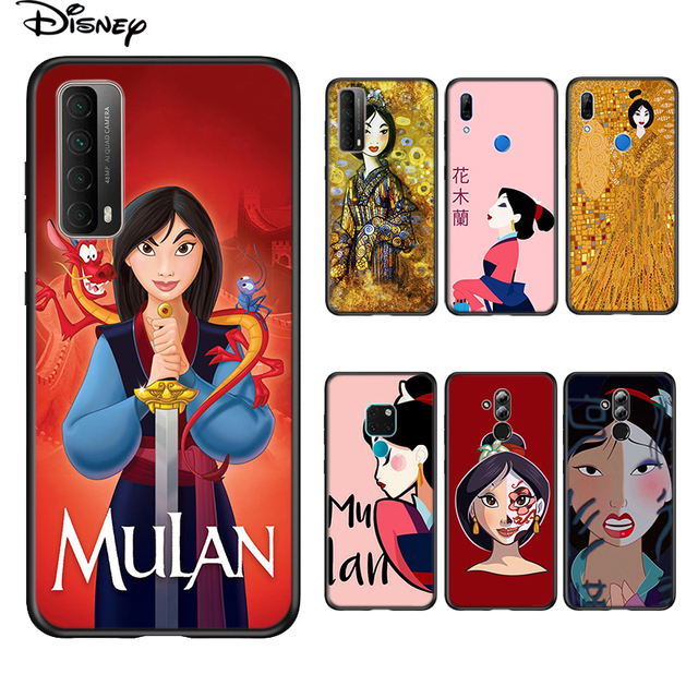 Soft Cover Disney Mulan Princess For Huawei P Smart 2021 2020 Z S Mate 40 RS 30 20 20X 10 Pro Plus Lite 2019 Phone Case