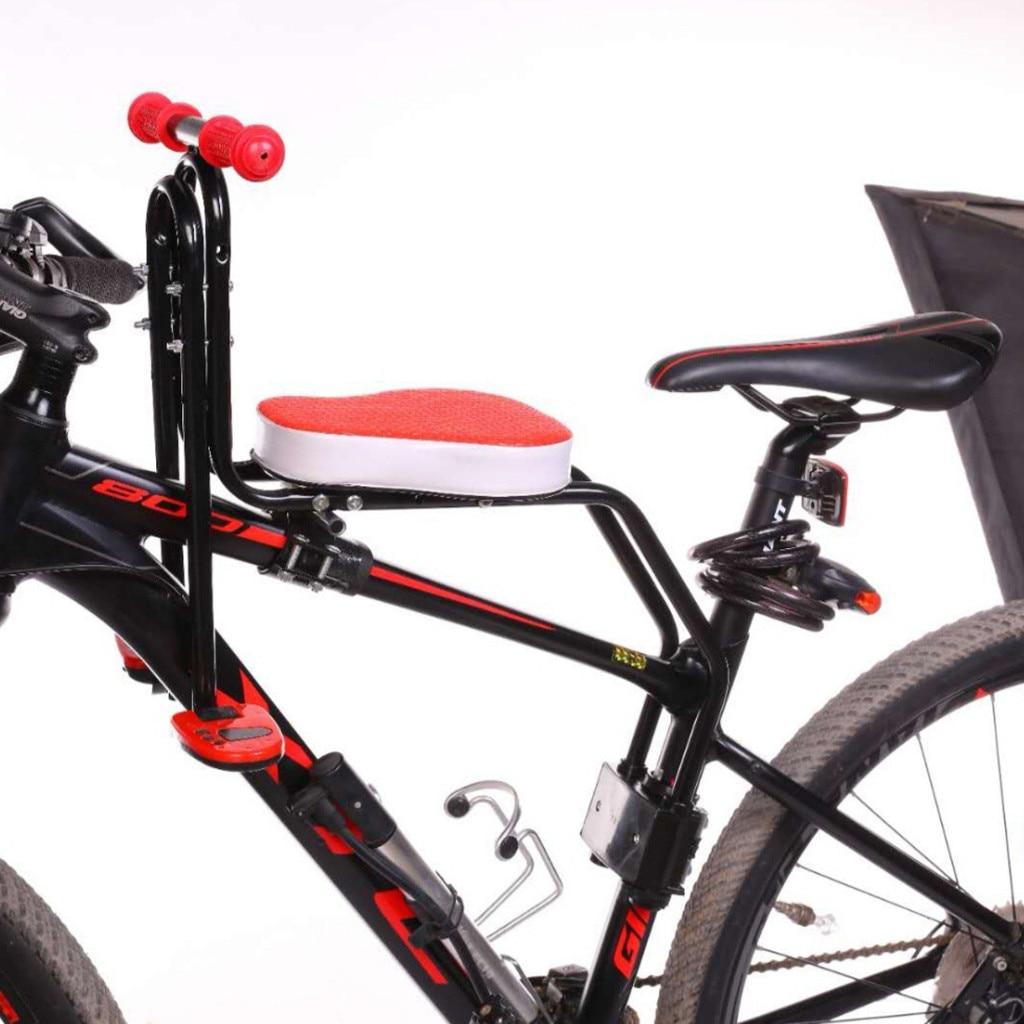 Bicycle Child Front Seat MTB Bike Kids Baby Seat Carrier-Front Mount Anti-Slip