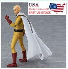 US 16cm Figma 310 ONE PUNCH-MAN Saitama Hero Teacher Poseable PVC Figure Toys
