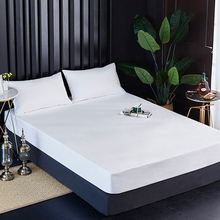 Crib Sheets Waterproof Bed Crib Sheet Cotton Terry Waterproof Mattress Protector For Baby Bed Cover Mattress Pad 80*200*30cm