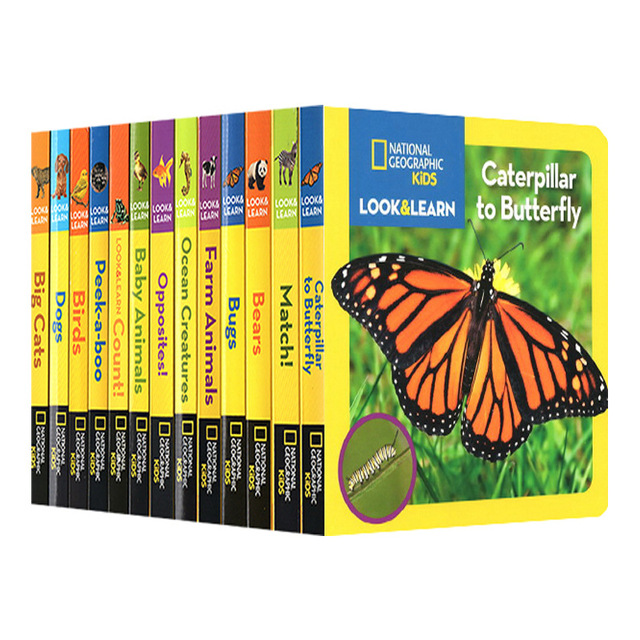 12 Books National Geographic English Reading Books Hell High School Life