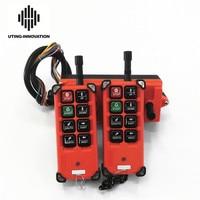 Free Shipping Universal f21e1b Industrial Wireless Radio Remote Control F21 E1B 2Transmitters 1Receiver for Overhead Crane Hoist