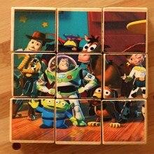Volumetric wood Buzz Lightyear Woody Action Figures Toys Brinquedo Model Block Toy Christmas Gifts For Kids B609 100% new original kmr820001m b609 emcp bga kmr820001m b609