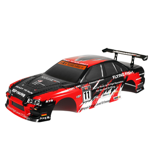 Image 4 - HSP RC Body Shell for HSP Redcat Exceed 1/10 Scale 4wd On Road Racing Drift with Stickers