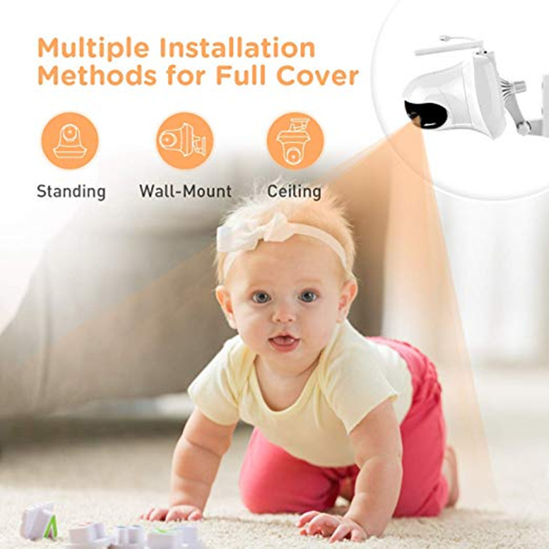 High Resolution Baby Monitor Infrared Of Night Vision To Baby Sleeping Monitor with Remote Camera 3