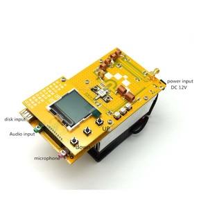 Image 2 - 30W PLL Stereo FM Transmitter 76M 108MHz 12V Digital LED Radio Station module with heatsink fan D4 005