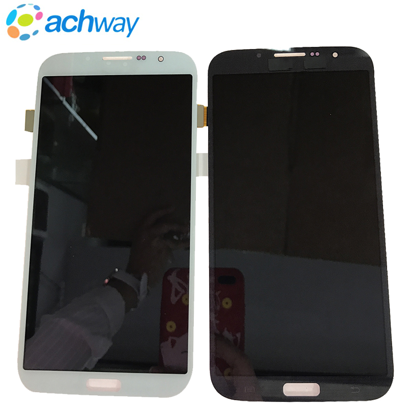 LCD Display Touch Screen Digitizer With Frame For <font><b>Samsung</b></font> Galaxy Mega <font><b>I9200</b></font> I9205 6.3