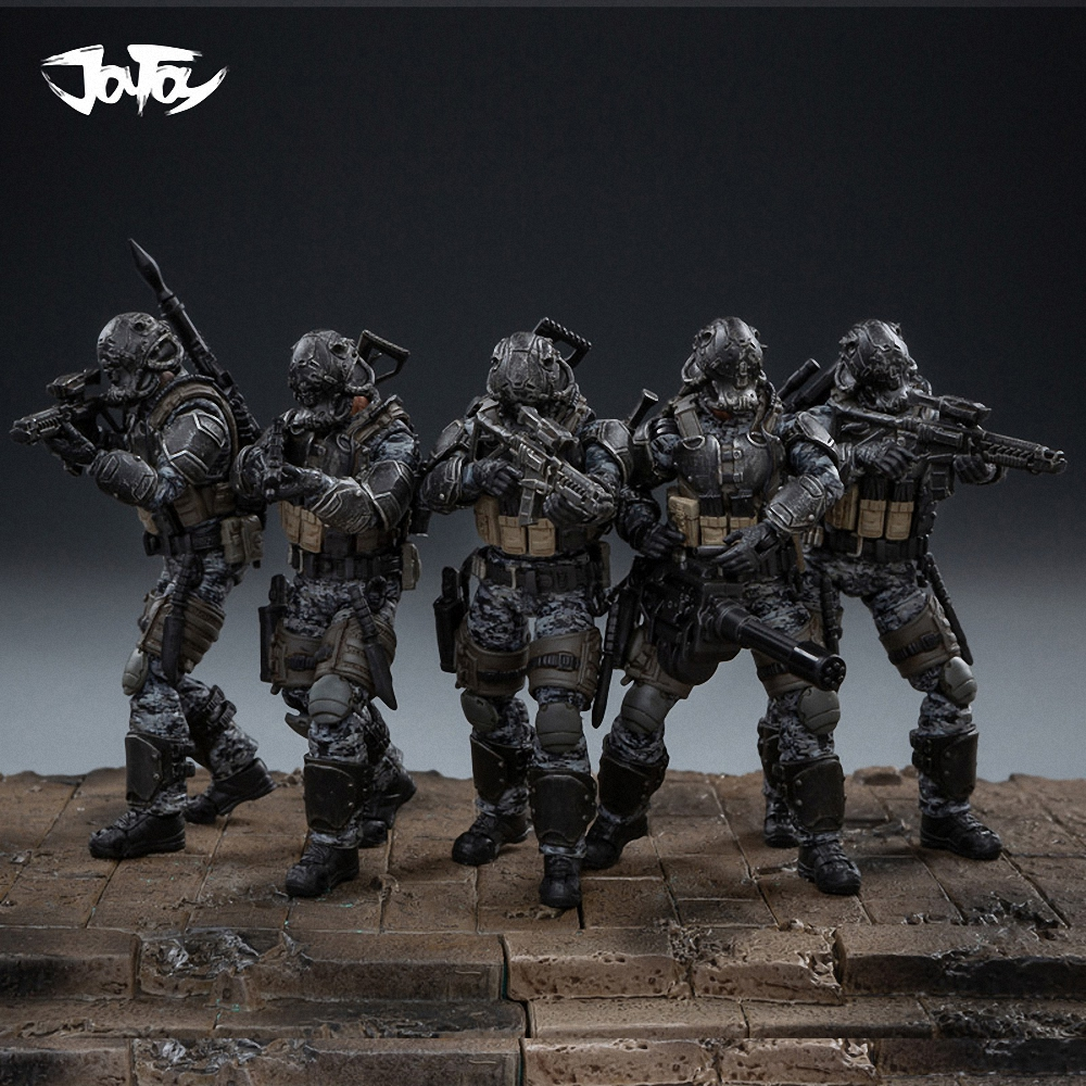 1/18 JOYTOY Action Figure Special Groups Men Soldier Figures Collectible Toy Military Model Auction Christmas Gift Present