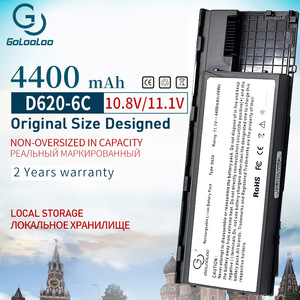 Image 1 - Golooloo 4400mah 6 Cells Laptop Battery For Dell Latitude D620 D630 D631 KD491 KD492 KD494 KD495 PC764 PC765 PD685 RD300 TC030